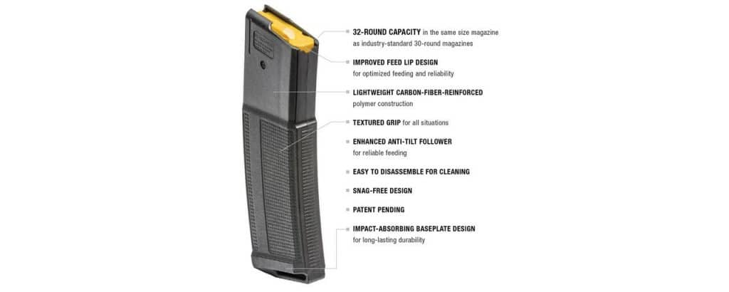 Daniel Defense DD 32 Round Magazine .223/5.56