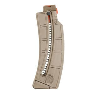 Smith and Wesson M&P 15-22LR 25 Round Magazine FDE