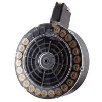 SGM Tactical Saiga 12 Gauge 25 Round Drum Magazine