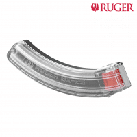 Ruger 10/22 .22LR 25 Round Clear-Sided Magazine